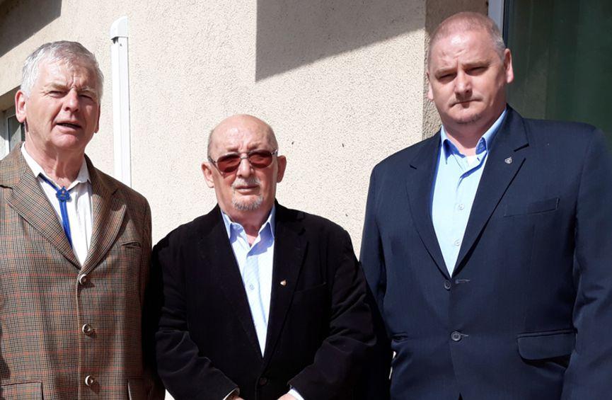 Francsics Ottó, Sallay Károly, Dani Attila