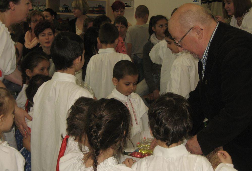 Sallay Károly és a gyerekek