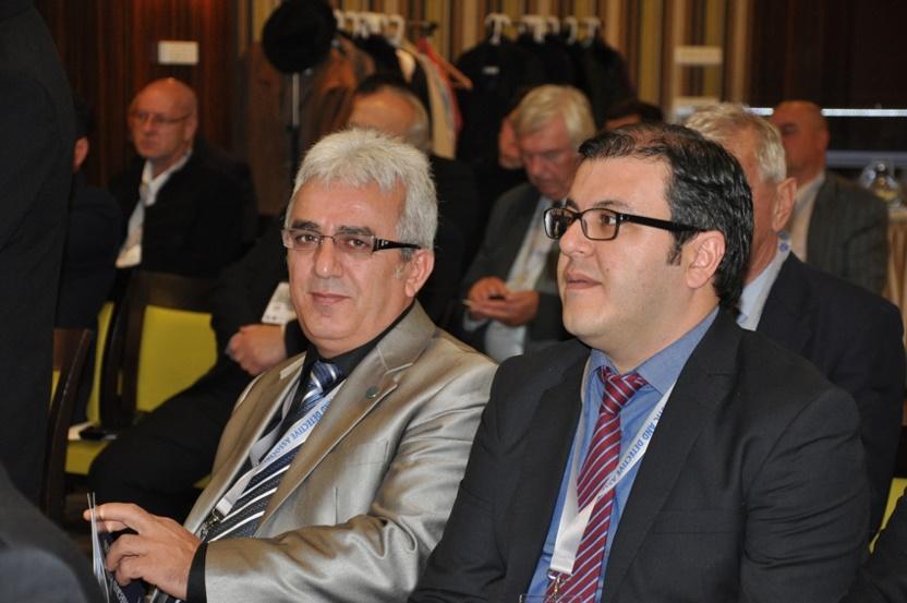 İsmail YETİMOĞLU az ÖDD elnöke és Av. Murat Yusuf SÖYLEMEZ főtitkár